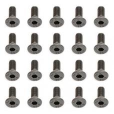 M3x8 Flat Head Screw - Steel