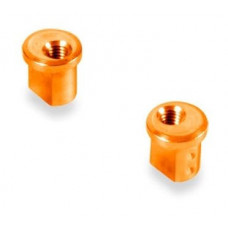 Alu eccentric Bushing X12 1.0mm - Orange