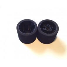 Rear Wheels 1/12, JACO Green (2)